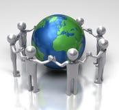 Unité pour l'écologie illustration libre de droits