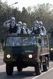 Unité spéciale de l'army-1 serbe Images stock