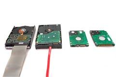 Unités de disque dur de données d'ordinateur Photographie stock