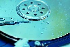 Unité de disque dur endommagée pareau Photographie stock libre de droits