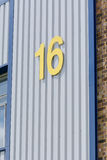 Unit 16 on industrial estate Stock Photography