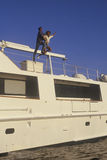 Unit photography of set of 'Temptation. ' stunt coordination, Miami, FL Stock Images