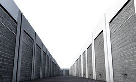 Unit storage Stock Photography