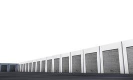 Unit storage Royalty Free Stock Photos