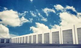 Unit storage Stock Image