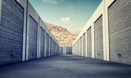 Unit storage Royalty Free Stock Images