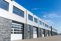 Unit storage facility Royalty Free Stock Image