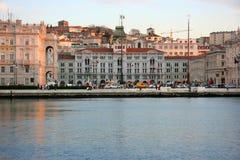 UNITA della piazza di Trieste Fotografie Stock