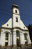 Unitarian Church in Cluj-Napoca (Romania) Royalty Free Stock Photo