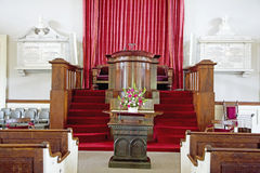 Unitarische universalistische Kirche Stockbild