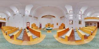 Unitaristisch Kerkbinnenland in dszereda rà ¡ van Nyà ¡ (Miercurea Nirajuului), Roemenië Stock Foto's