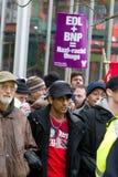 Unite Against Fascism (UAF) Royalty Free Stock Photo
