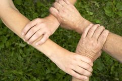 United. Hands Royalty Free Stock Photography