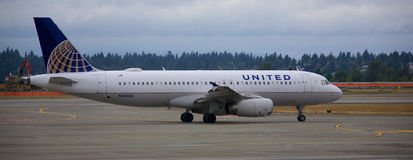 United Air Lines Stock Photos