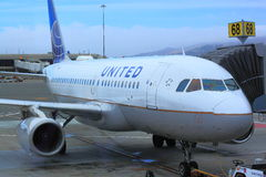 United Airline Stock Image
