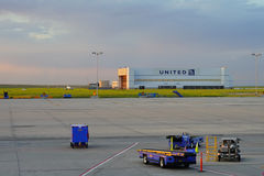 United airline ware house Royalty Free Stock Photo