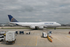 United Airlines Imagens de Stock Royalty Free