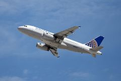 United Airlines Airbus A319-131 Stock Photos