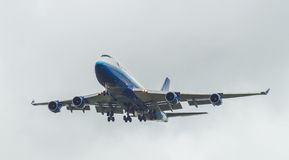 United Airlines Boeing 747 Images stock