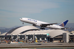 United Airlines Boeing 777-222(ER) - N791UA Royalty Free Stock Image