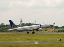 United Airlines Boeing 757 Royalty Free Stock Photo