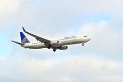 United Airlines Commercial Passenger Jet Stock Image