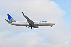 United Airlines Commercial Passenger Jet Royalty Free Stock Images