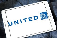 United airlines logo Stock Images