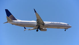 United Airlines Royalty Free Stock Photo