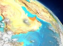 United Arab Emirates de la órbita libre illustration