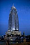 The United Arab Emirates . Dubai. The Address Downtown Burj Dubai - 63 floors tower in height of 306 meters, located in Dubai . The United Arab Emirates Royalty Free Stock Image
