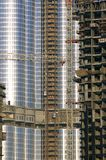 United arab emirates: dubai burj dubai tower royalty free stock photography