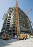 United Arab Emirates, Dubai, 06/07/2015, terreno de construção na palma, Dubai do desenvolvimento do hotel do vice-rei Imagem de Stock