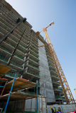 United arab Emirates, Dubai,06/07/2015,  Viceroy Hotel development building site on the Palm, Dubai Stock Image