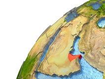 United Arab Emirates on Earth Stock Image