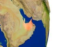 United Arab Emirates on Earth Stock Images