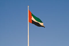 United Arab Emirates Flag Royalty Free Stock Photography