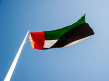 United Arab Emirates flag Royalty Free Stock Image