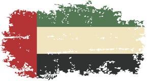 United Arab Emirates grunge flag. Vector Stock Photography