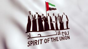 United Arab Emirates UAE National Day stock video footage