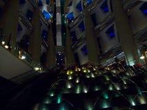 Hotel in Dubai. United Arab Emirates. United Arab Emirates. Wealth and luxury. Hotel in Dubai. Beauty and grace royalty free stock photo