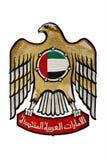 United- Arab Emirateswappen Lizenzfreie Stockfotos