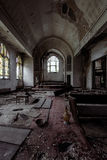 United Brethren Christ Church - McKeesport, Pennsylvania. Inside the abandoned United Brethren Christ Church in McKeesport, Pennsylvania stock photography