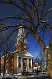 United Church. One of the churches in New Haven Green Royalty Free Stock Photo