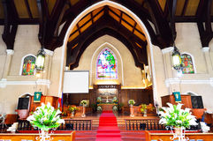 United Church of Christ in the Manila Stock Photo