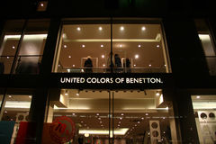 United colors of benetton. Store downtown Stuttgart, Germany Stock Images