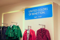 United Colors of Benetton Royalty Free Stock Images