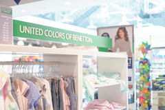 United Colors of Benetton Royalty Free Stock Photography