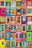 United colors of Burano Royalty Free Stock Photo