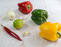 United colors of vegetables. Royalty Free Stock Photo